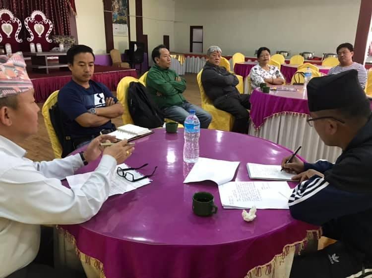 Rai Upliftment Society Meeting